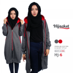 Jaket Muslimah 2017, Hijacket MIsty x Red [HJ6]