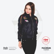JAKET LOKAL BORDIR – FULCRUM – BOMBER FOR WOMEN | FiDO Store