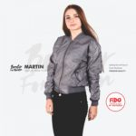 JAKET BANDUNG – FULCRUM – BOMBER FOR WOMEN | FiDO Store