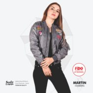 JAKET LOKAL BORDIR – MARTIN – BOMBER FOR WOMEN | FiDO Store
